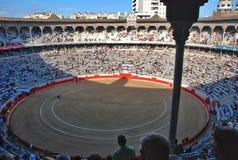 Arena for Spanish bullfighting Stock Image
