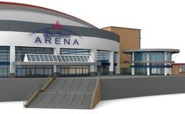 Arena, Station, Oberhausen Stock Photo