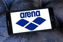 Arena swimwear company logo Royalty Free Stock Photo
