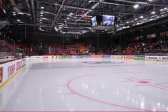 Arena vacía del hielo Fotografía de archivo