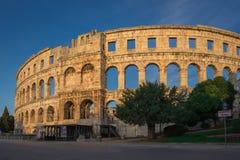 Arena van Pula royalty-vrije stock foto