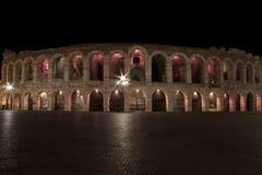 Arena van Verona (Italië) Royalty-vrije Stock Afbeeldingen