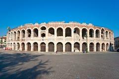 Arena van Verona, Romein amphitheatre. Italië Stock Foto