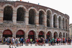 Arena Verona Stock Foto's