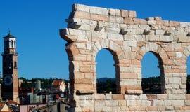 Arena Verona Imagenes de archivo