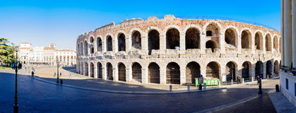 Arena Verona Royaltyfri Fotografi
