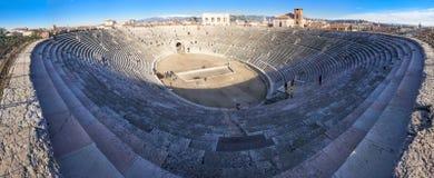 Arena Verona Arkivfoton