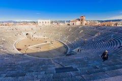 Arena Verona Royaltyfria Foton