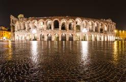 Arena Verona amfiteater i Italien Fotografering för Bildbyråer