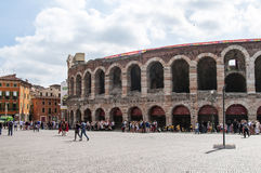 Arena in Verona, Italy Royalty Free Stock Photo