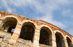 Arena in Verona, Italy. Royalty Free Stock Photography