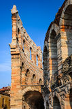 Arena, Verona, Italy. Verona, Italy. Roman Empire amphitheatre, Arena, completed in 30AD, the third largest in the world Royalty Free Stock Photo