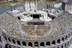 Arena Verona People Opera Italy Mini klein Stockbilder