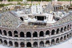 Arena Verona People Opera Italy Mini klein Stockfotografie