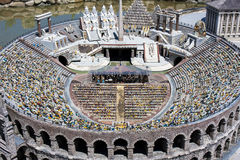 Arena Verona People Opera Italy Mini Tiny Stock Images