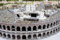 Arena Verona People Opera Italy Mini Tiny Stock Photography