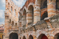 Arena of Verona - the place of annual festival operas in Verona Stock Photo