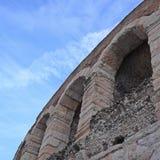 Arena of Verona wall Royalty Free Stock Photos