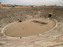 Arena of Verona, the Well Preserved Roman Amphitheatre in Verona Stock Images