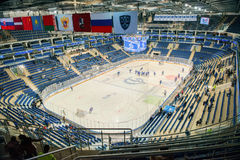 Arena VTB Ice Palace before h Royalty Free Stock Images