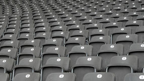 Arena vuota Fotografie Stock