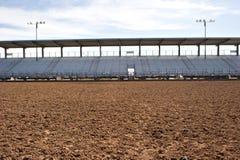 Arena vuota del rodeo Fotografie Stock Libere da Diritti