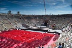 arena wśrodku Verona Zdjęcie Stock