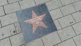 ARENA walk of fame : Tokyo Hotel Royalty Free Stock Photography