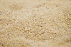 Arena y hoyo de arena Imagen de archivo libre de regalías