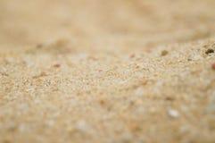 Arena y hoyo de arena Fotografía de archivo libre de regalías