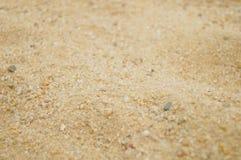 Arena y hoyo de arena Foto de archivo