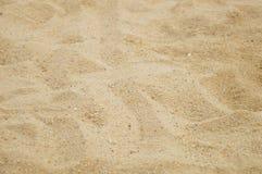 Arena y hoyo de arena Imagen de archivo