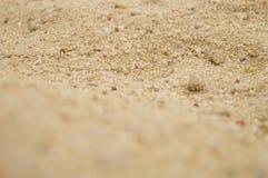 Arena y hoyo de arena Fotos de archivo libres de regalías
