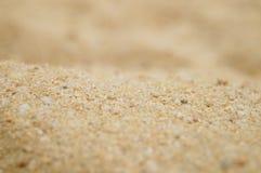 Arena y hoyo de arena Fotos de archivo