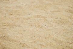 Arena y hoyo de arena Foto de archivo libre de regalías