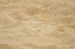 Arena y hoyo de arena Imagenes de archivo
