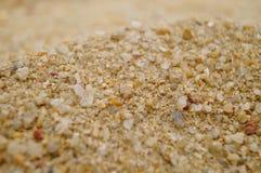 Arena y hoyo de arena Fotografía de archivo