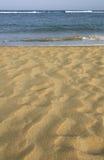 Arena y mar Fotografía de archivo libre de regalías