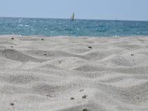 Arena y mar en el verano (detalle) Imagenes de archivo