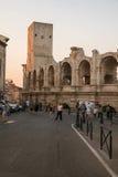 Arena y Roman Amphitheatre Fotos de archivo libres de regalías