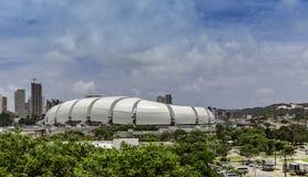 Arenadas Dunas voetbalstadion in Geboorte, Brazilië Stock Foto