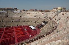 Arenadi Verona Stockfotos