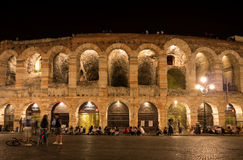 Arenadi Verona lizenzfreie stockfotos