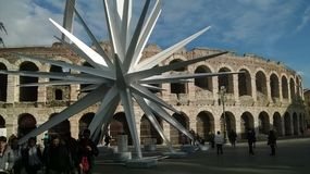 Arenadi Verona Stockfoto