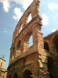 Arenadi Verona Stockbilder