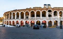 Arenadi Verona, Italien lizenzfreie stockbilder