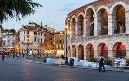 Arenadi Verona, Italien stockfotografie