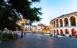 Arenadi Verona, Italien lizenzfreies stockfoto