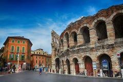Arenadi Verona, Italien Royaltyfria Foton