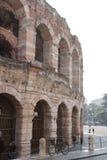 Arenadi Verona Italy Arkivbilder
